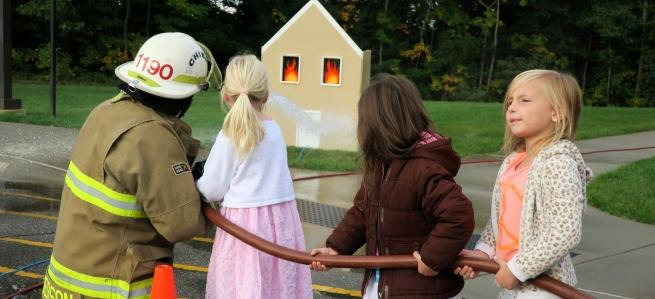 Fire prevention day at the MAC