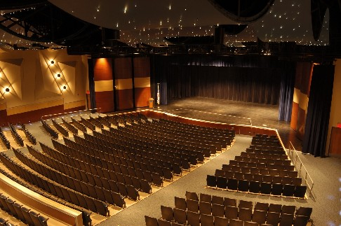picture of the high school auditorium interior